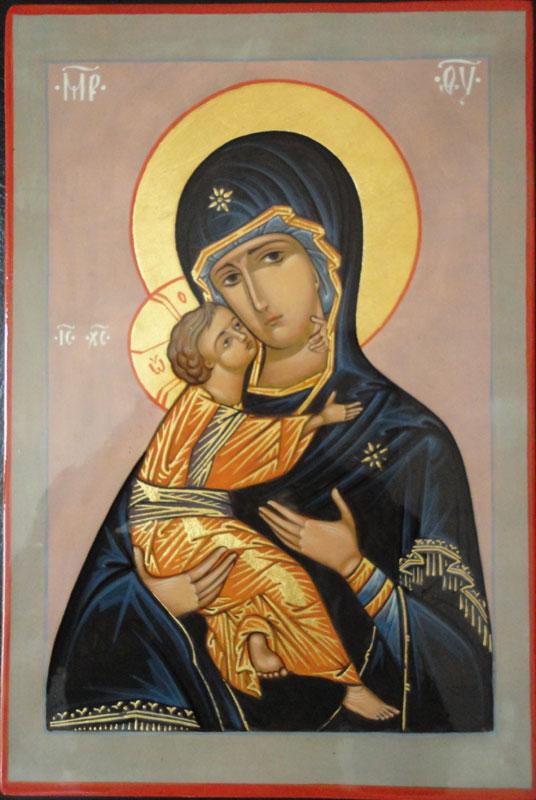 икона пресвятой богородицы владимирская:
